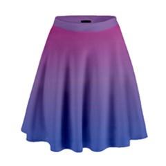 Bi Colors High Waist Skirt