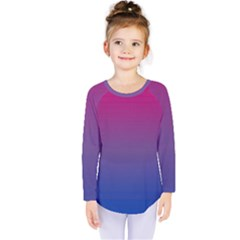 Bi Colors Kids  Long Sleeve Tee