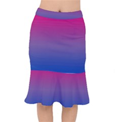 Bi Colors Mermaid Skirt
