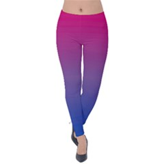 Bi Colors Velvet Leggings