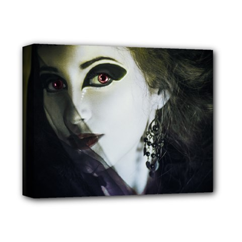 Goth Bride Deluxe Canvas 14  x 11
