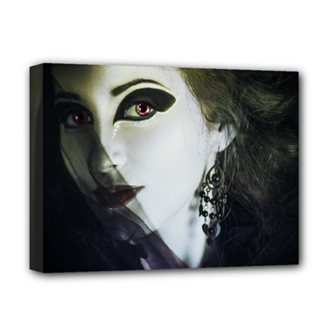 Goth Bride Deluxe Canvas 16  x 12