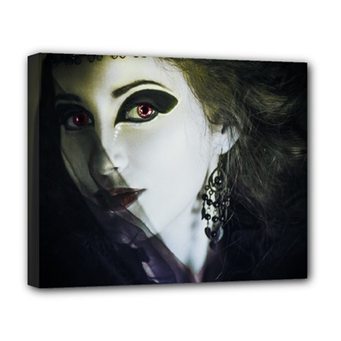 Goth Bride Deluxe Canvas 20  x 16