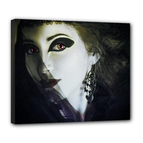 Goth Bride Deluxe Canvas 24  x 20