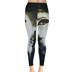 Goth Bride Leggings
