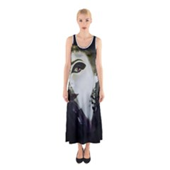 Goth Bride Sleeveless Maxi Dress