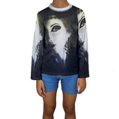 Goth Bride Kids  Long Sleeve Swimwear