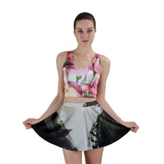 Goth Bride Mini Skirt