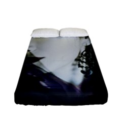 Goth Bride Fitted Sheet (Full/ Double Size)