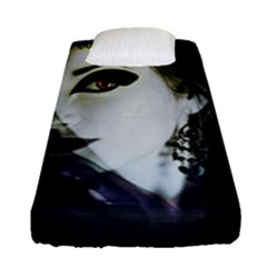 Goth Bride Fitted Sheet (Single Size)