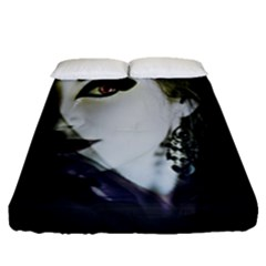 Goth Bride Fitted Sheet (Queen Size)