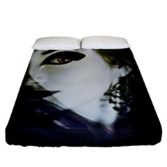 Goth Bride Fitted Sheet (King Size)