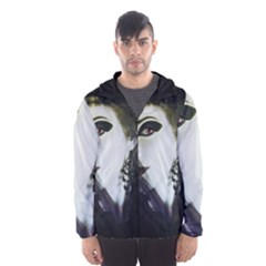 Goth Bride Hooded Wind Breaker (Men)