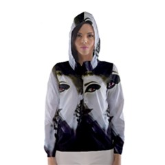 Goth Bride Hooded Wind Breaker (Women)