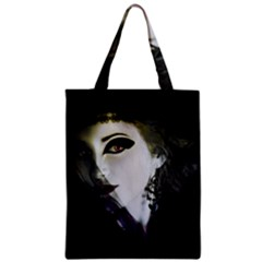 Goth Bride Zipper Classic Tote Bag
