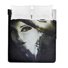 Goth Bride Duvet Cover Double Side (Full/ Double Size)
