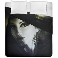 Goth Bride Duvet Cover Double Side (California King Size)