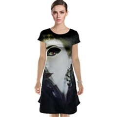 Goth Bride Cap Sleeve Nightdress