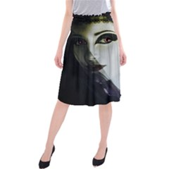 Goth Bride Midi Beach Skirt