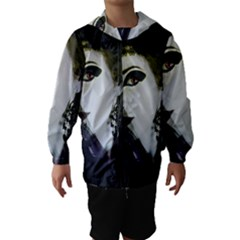 Goth Bride Hooded Wind Breaker (Kids)