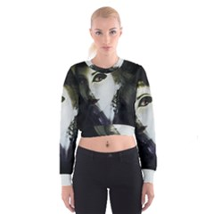 Goth Bride Cropped Sweatshirt