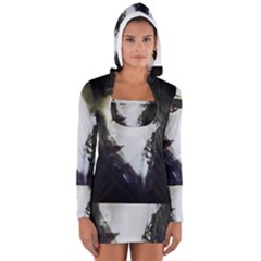 Goth Bride Women s Long Sleeve Hooded T-shirt