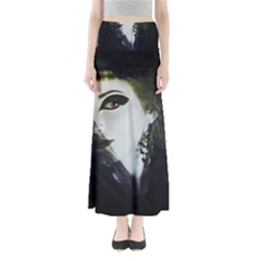 Goth Bride Full Length Maxi Skirt