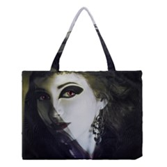 Goth Bride Medium Tote Bag