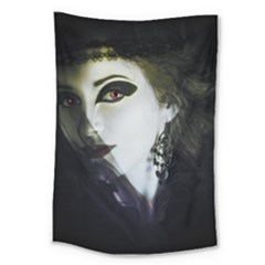 Goth Bride Large Tapestry