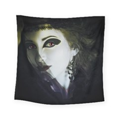Goth Bride Square Tapestry (Small)