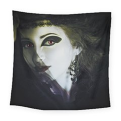 Goth Bride Square Tapestry (Large)