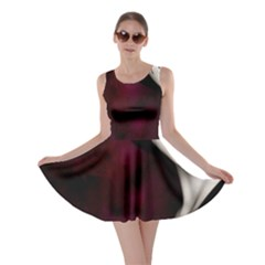 Goth Girl Red Eyes Skater Dress