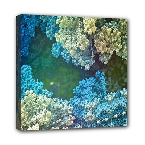 Fractal Formula Abstract Backdrop Mini Canvas 8  x 8