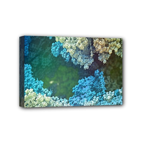 Fractal Formula Abstract Backdrop Mini Canvas 6  X 4