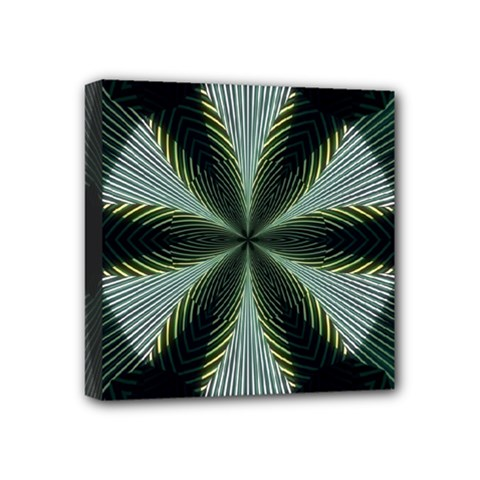 Lines Abstract Background Mini Canvas 4  X 4