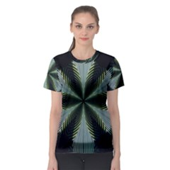 Lines Abstract Background Women s Sport Mesh Tee