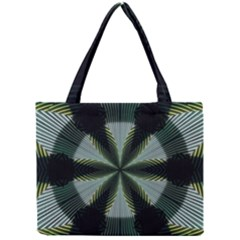 Lines Abstract Background Mini Tote Bag