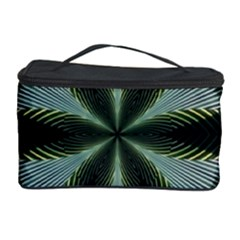 Lines Abstract Background Cosmetic Storage Case