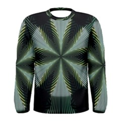 Lines Abstract Background Men s Long Sleeve Tee