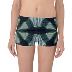 Lines Abstract Background Reversible Boyleg Bikini Bottoms