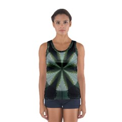 Lines Abstract Background Women s Sport Tank Top
