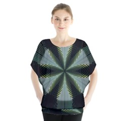 Lines Abstract Background Blouse