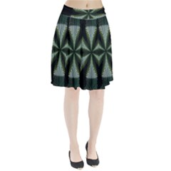 Lines Abstract Background Pleated Skirt
