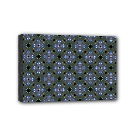 Space Wallpaper Pattern Spaceship Mini Canvas 6  x 4
