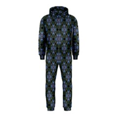 Space Wallpaper Pattern Spaceship Hooded Jumpsuit (Kids)