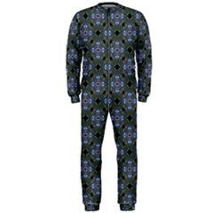 Space Wallpaper Pattern Spaceship OnePiece Jumpsuit (Men)