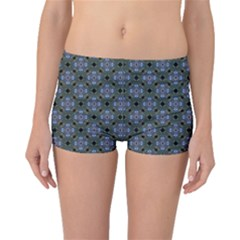 Space Wallpaper Pattern Spaceship Boyleg Bikini Bottoms