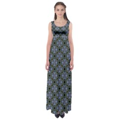 Space Wallpaper Pattern Spaceship Empire Waist Maxi Dress