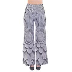 Pattern Motif Decor Pants