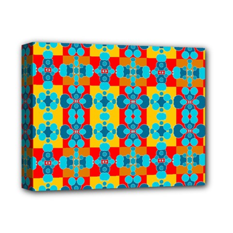 Pop Art Abstract Design Pattern Deluxe Canvas 14  X 11